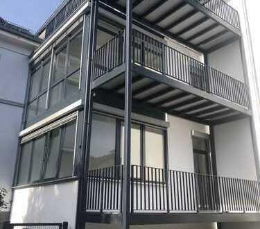 Komplett sanierte 3 Zimmerwohnung mit Balkon und Gartennutzung in ruhiger Lage in Oberhausen
