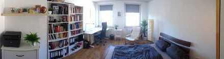 Helles Zimmer (~20qm) in netter 2er WG mit Blick über Burtscheid