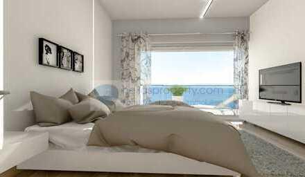 Luxuriöses Appartment m. Terrasse ca. 66 m² Nfl.,im 2. OG mit Traumblick zum Meer, Direkt am Strand!