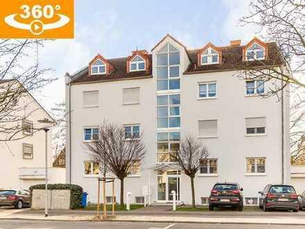 Attraktive 4-Zi.-Dachgeschosswohnung (104 m²) in gepflegtem 7-FH (Bj. 92) in Bad Nauheim