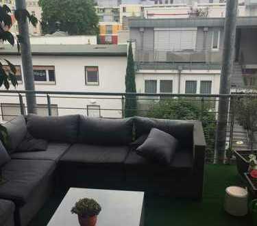 3 Zimmer Wohnung im C7 - Quadrat nähe Uni (5 Minuten) großer Balkon sehr zentral