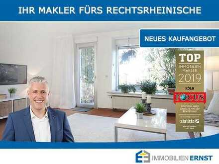 Seltene Chance! Charmantes Reihenendhaus auf großem Grundstück in Köln-Holweide