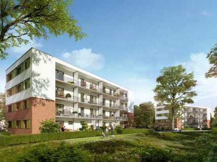 Barrierefreie 2-Zi.-Gartenwohnung mit eigener Terrasse - Gut angebunden in grüner Umgebung