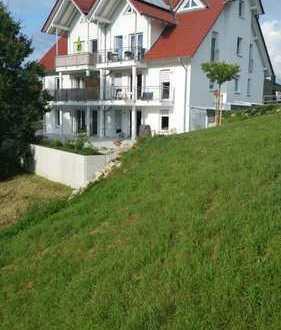 Neuwertige 4-Zimmer-Wohnung mit Balkon und EBK in Bischberg