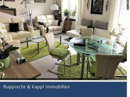 3-Zimmer-Erdgeschosswohnung mit neuen Möbeln, neuer Küche und Terrasse in Weiden West