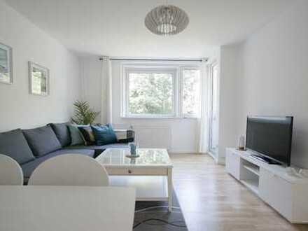 Möblierte 2 Zimmer Wohnung im Westend - Balkon - EBK - PKW-Stellplatz