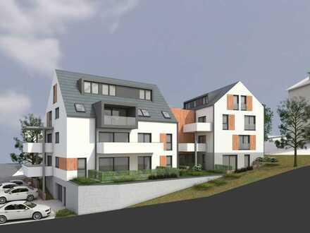 Erstbezug - 132m² Maisonette-Wohnung mit Ausblick, Terasse, Loggia, Aufzug, 2 Stellplätze uvm.