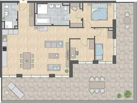 4-Zi-Penthousewohnung - Über den Dächern von Tuttlingen