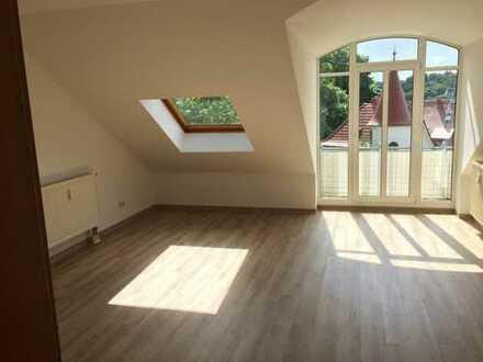 Wohnen mit Aussicht!! - Balkon und Blick über Waldheim