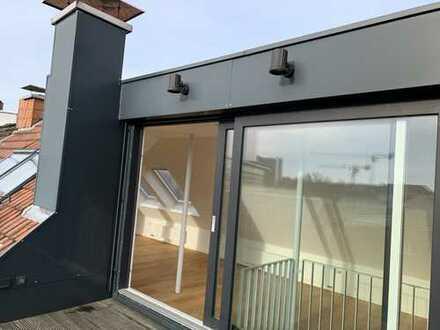 Dachterrassenwohnung mit Studio - Erstbezug nach Sanierung - Promenade und Salzstraße vor der Tür