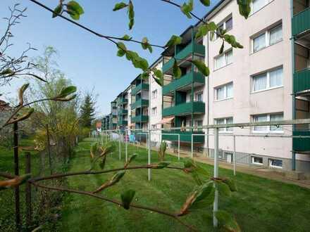 3-Raum-Wohnung mit gemütlichem Balkon