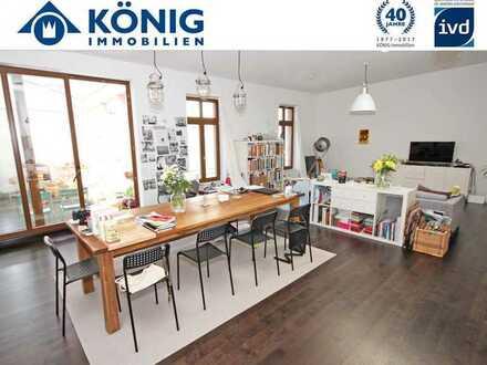Eine absolute Rarität in der Altstadt: 142 m²-Hofhaus im Loftstil mit 26 m² großer Terrasse