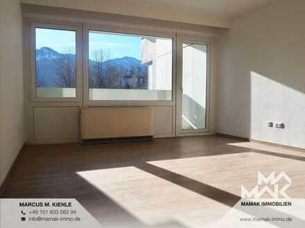 Sonnenlichtdurchflutetes Apartment vor traumhaftem Allgäuer-Alpenpanorama