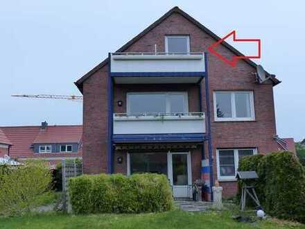 Gemütliche Dachgeschosswohnung für 1 Person in sehr zentraler Lage von Leer.