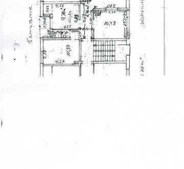 Gepflegte EG-Wohnung mit drei Zimmern und Balkon in Einbeck