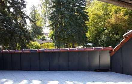 große 2 Zimmer Wohnung mit Dachterrasse in Zernsdorf zu vermieten