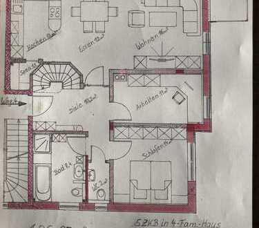 Zentrumsnahe 5-ZKB Wohnung über 2 Etagen, Erstbezug, 149,5qm