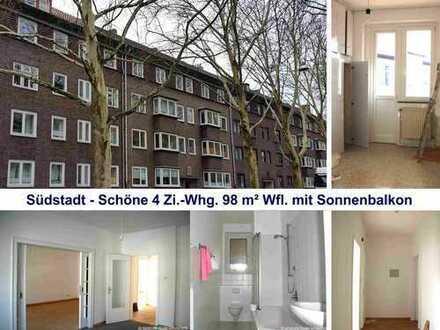 Exklusive Südstadt - Schöne, helle und renovierte 4.Zi.Whg. mit Balkon