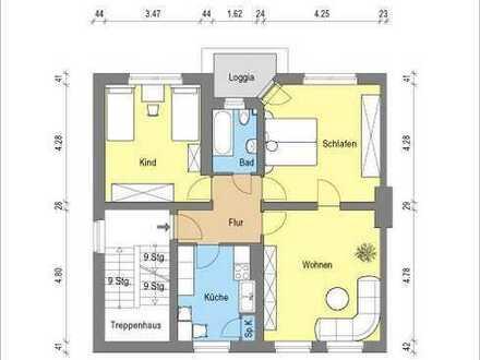 *wunderschöne 3 Zimmerwohnung mit Balkon*