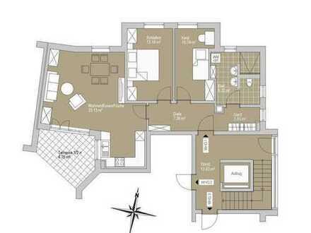 Familienfreundliche 3-Zimmer Wohnung