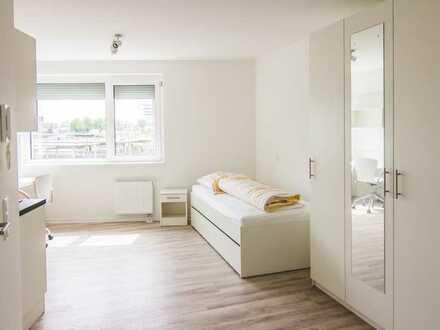6 Monate wohnen und 4 bezahlen, hochwertig möblierte 1 Zimmerapartments in Top-Lage.