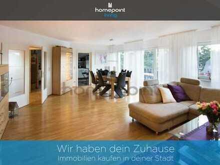 4-Zimmer-Wohnung mit Balkon, Garten und weiterem Ausbaupotenzial im Spitzboden