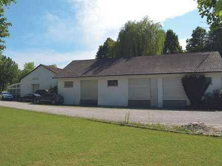 Produktions-/Lagerhalle mit Büro-/Ausstellungsbereich in Dorfen (A94+B15+Bahn) zu vermieten