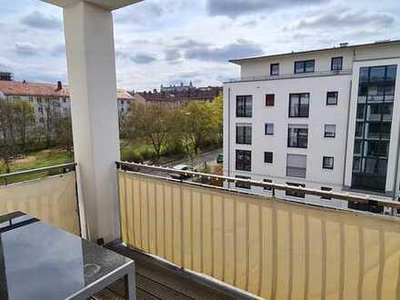 Hochwertige 2-ZW in moderner Wohnanlage mit tollem Balkon und Festungsblick!
