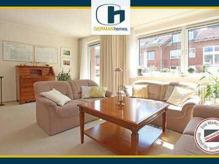 PROVISIONSFREI für Käufer – Attraktive Hochparterrewohnung mit Balkon in zentraler Lage von Glinde