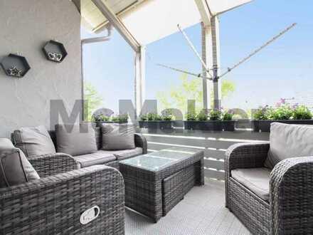 Moderne 5-Zimmer-Maisonette mit Balkon, Garage, Stellplatz und Gartennutzung in Hilzingen- Riedheim