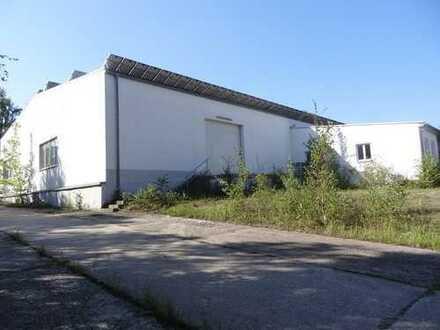 Moderne Produktionshalle Nähe Chemnitz zu verkaufen.