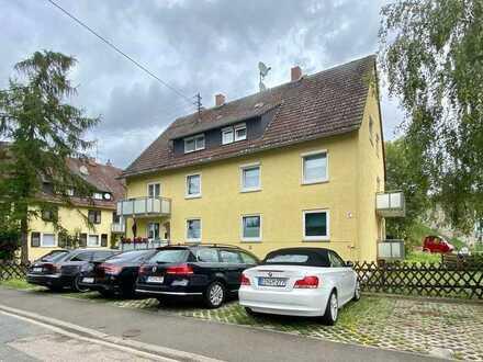 Gau-Algesheim: Gemütliche 2-Zimmer-Dachgeschoßwohnung