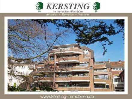 KR - Bismarckplatz! 100 m²-Eigentumswohnung mit 2 Balkonen und Tiefgaragenstellplatz in 1 A-Lage!