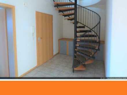 BJ 2002 : Maisonettewohnung, 2 Balkone, Fußbodenheizung - mit Blick ins Grüne - bei Alzey