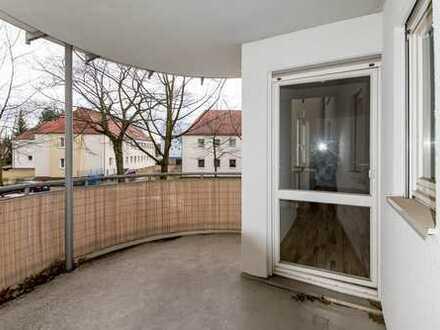 Gepflegte 2-Zimmer-Wohnung mit Balkon und EBK in Fürstenwalde