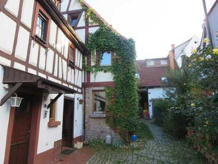 Weinheim: Gemütliches Fachwerkhaus am Rande der Altstadt