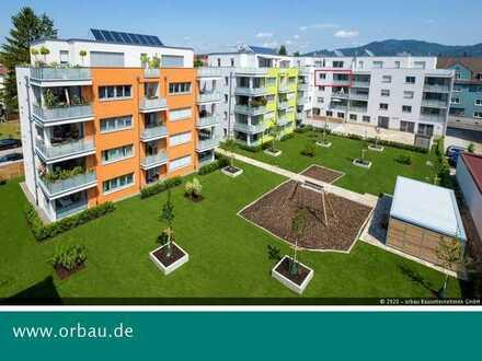 Provisionsfrei: Moderne Neubau-Stadtwohnung mit Einbauküche und Loggia in Bahnhofsnähe.