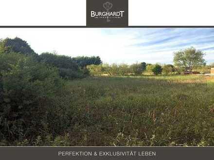 Rödermark - Grundstück mit unverbaubarem Blick ins Grüne im Gewerbemischgebiet