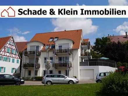 EG-Wohnung mit großem Gartenanteil, Einbauküche und 2 Kfz-Stellplätzen in Wendlingen
