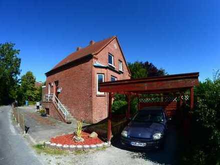 Haus mit sep. Wohnung (vermietet) und schönem Garten, 130 qm, 5 Zimmer in Hinte