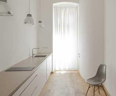 Hochwertig sanierte und möblierte 1-Zimmer-Loft-Wohnung mit EBK in Mannheim Quadraten