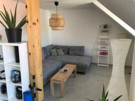 Steppach: barrierefreier NEUBAU 3-Zimmer-DG-Wohnung mit Balkon, Einbauküche, Fußbodenheizung, Aufzug
