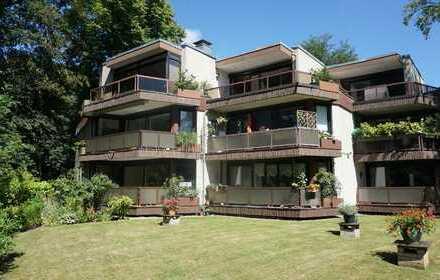 Sonnige 2,5 Zimmer-Wohnung im Loft-Stil im Zentrum von Hamburg-Volksdorf
