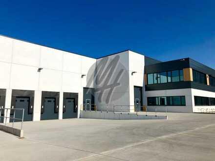 PROVISIONSFREI ✓ LAGER-/LOGISTIK-NEUBAU ✓ 10.000 m² / teilbar ✓ Rampe + eben ✓ 10 m Höhe ✓