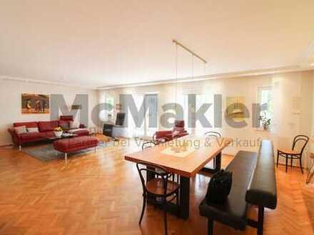 Attraktive Wohnung im Zentrum: 5-Zi.-Familienwohnung mit Terrasse