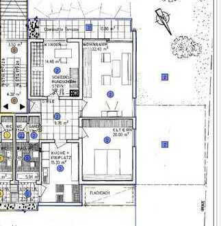 Gepflegte 3-Zimmer-Erdgeschosswohnung mit Loggia und Terrasse in Mosbach