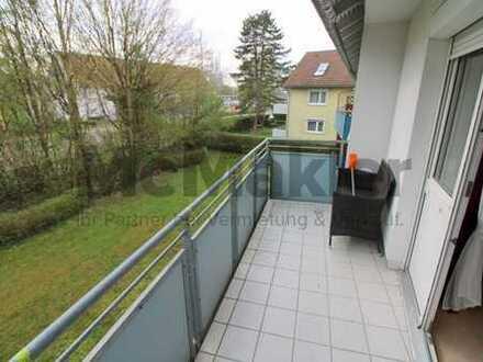Idylle in Großstadtnähe: Gepflegte 3-Zi.-ETW mit Balkon und Ausbaureserve nahe Stuttgart