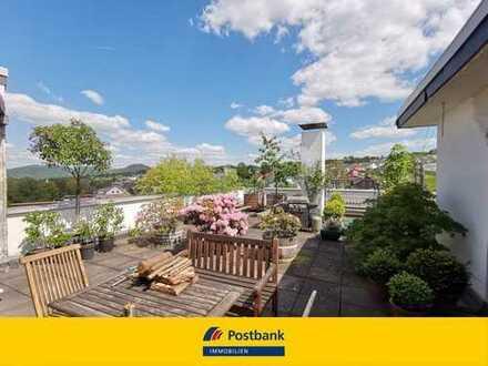 Wachtberg wunderbar gelegene Penthouse mit 134 m² und ca. 216 m² Dachterrasse mit Traumaussicht!