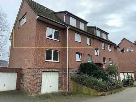 Bleckede: Großzügige 3,5-Zimmerwohnung mit Balkon und Garage!