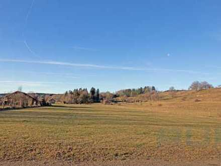 Ortsrandlage - Baugrundstück in Leeder/ Fuchstal